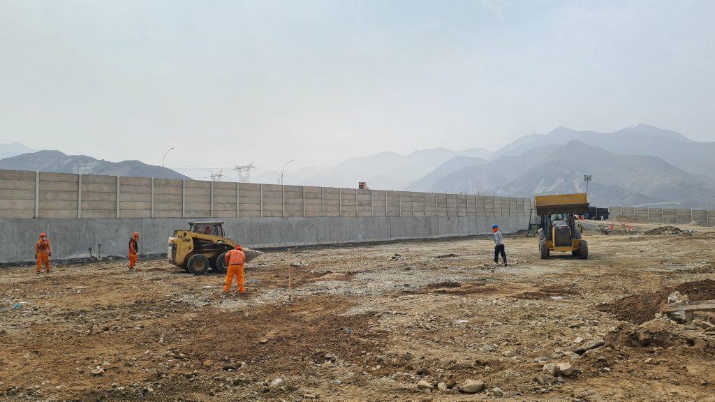 Primeros avances de construcción Casa Central ALO Perú en Parque Industrial Macropolis