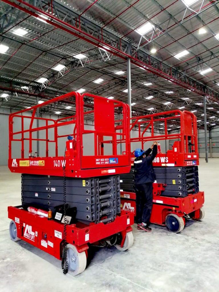 ¡Soluciones en Altura! Alquiler equipos ALO Lift 140 W y 160 WS en almacén en Lurín