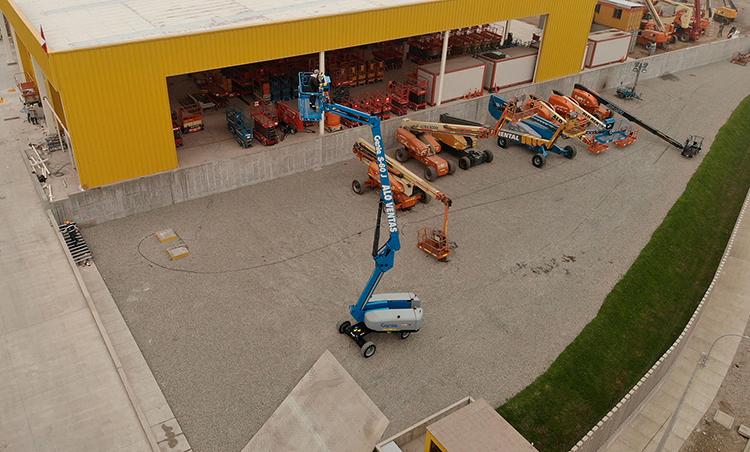 ALO Perú vende primer Brazo Telescópico en Sudamérica Genie S-60 J a minera
